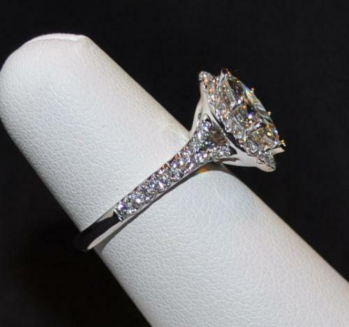 Ebay Used Gold Marquise Diamond Wedding Rings