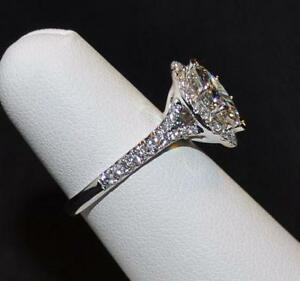 Halo Marquise Diamond Ring