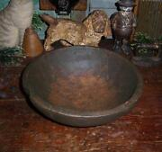 Antique Burl Wood Bowl