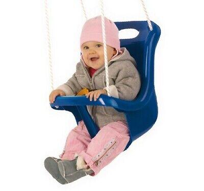 Balançoire nacelle extérieure rouge pour bébé avec ceinture Happy People 73216 tweedehands  verschepen naar Netherlands
