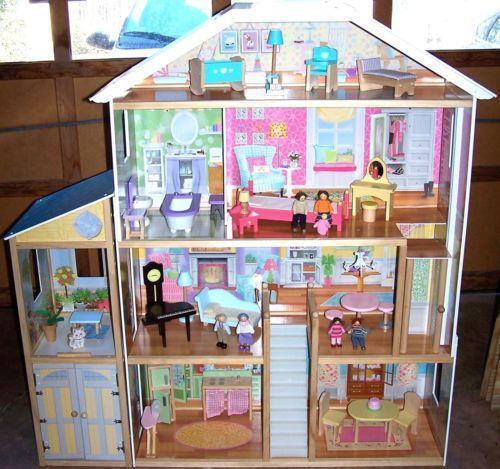 kidkraft majestic mansion dolls bears ebay