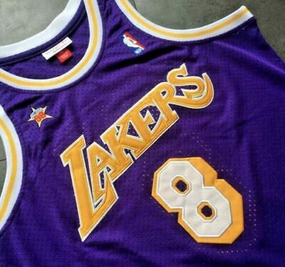 Kobe Bryant #8 Hardwood Classics NBA All-Star Jersey 1998 Los Angeles Lakers XL