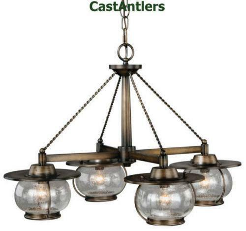 Wagon Wheel Rustic Chandelier Western Decor Pendant Light: Western Chandelier
