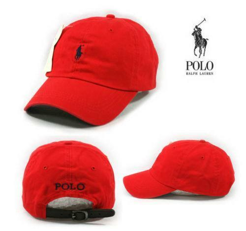 Red Polo Hat  da9b25c23ee4