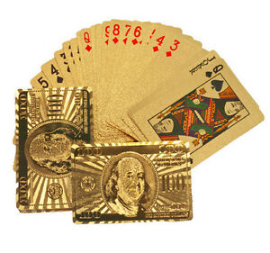 24K-Gold-Plated-Playing-Cards-Poker-Full-Deck-with-Two-Jokers-Color-Gold