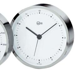 Barigo Maritim Nautica Bootsport Household Clock Nickel-Plated Modern