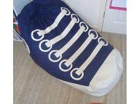 NEXT large trainer shoe bean bag