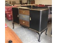 ** LOVELY UP-STYLED SIDEBOARD WITH QUEEN ANNE LEGS - CAN DELIVER **