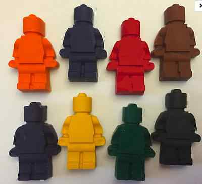 Lego men * Set of 8 * Perfect for Party Favors * Stocking Stuffers * Small - Stocking Stuffers Men