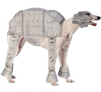 Haustier Hund Katze Star Wars AT-AT Halloween Kostüm Outfit Verkleidung S-XL