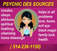 PSYCHIC DES SOURCES HELPS YOU IN ALL PROBLEMS!