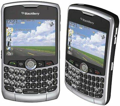 BlackBerry Curve 8330 Bell Mobility SILVER Smartphone Wireless Cell phone qwerty 8330 Blackberry