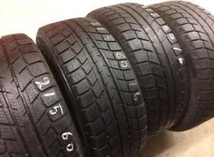 4 Arctic Winter tires:215/60R16