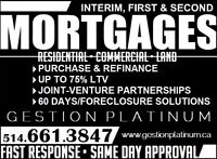 ✔✔ Private Mortgage Lender • 2ND MORTGAGE • Bad Credit ✔✔