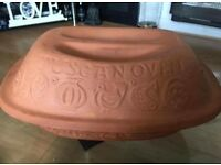 Clay Tuscan Oven