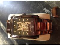 Men's fossil/relic automatic watch