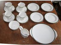 Royal Doulton Oxford Green tea service