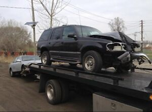 Cash for junk cars. Call or text 780-886-7909