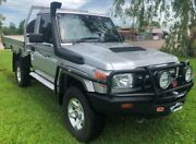 2014 Toyota Landcruiser VDJ79R MY13 GXL Silver 5 Speed Manual Cab Chassis Berrimah Darwin City Preview