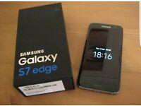 Samsung Galaxy s7 edge Black Unlocked and bixed