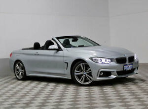 2015 BMW 435i F33 MY15 Silver 8 Speed Automatic Convertible
