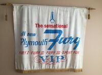 Plymouth Fury Dealership Banner