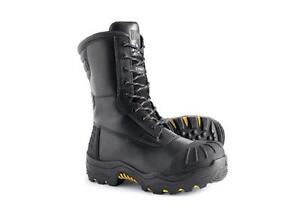 SIZE 7 CSA Safety 10 inch BOOT  WINTER -70  OIL TRANSITIONAL