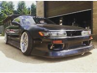 Ps13 1jz r154 twin turbo Jdm import drift 180sx s13 s14 200sx silvia