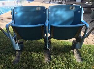 Two Tiger Stadium seats (Detroit Tigers)