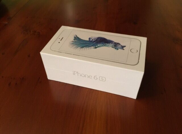 iPhone 6S silver 16 Gb