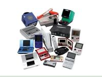 CONSOLES // GAMES WANTED CASH PAID £££ NEW OR RETRO