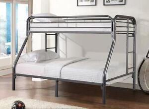 SINGLE/DOUBLE Bunk Bed ***2 COLOURS to Pick from***