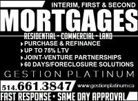 Hypothèque Privée • Private Mortgage • FAST FUNDING 514.661.3847