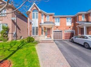 Newmarket  Beautiful 4 BD Semi Detached Home for Lease