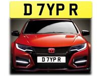 Honda Civic Type R EP3 / FN2 Number Plate