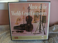 LP's Music of the World's Great Composers