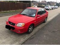 Hyundai ACCENT 1.6 long mot drives the best