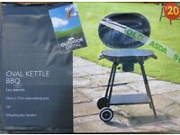OVAL KETTLE BBQ & COVER
