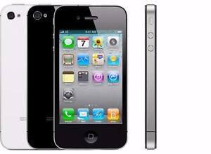 iphone4s with company telus kodo public mobile bell virign with charger and one month warranty $99