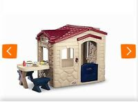 Play house, couple years old