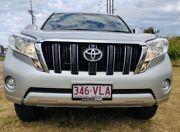 2014 Toyota Landcruiser Prado KDJ150R MY14 GXL Silver 5 Speed Sports Automatic Wagon Mackay Mackay City Preview