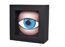 CLEVERCLOCKS Eye Modern Design 5.5x5.5 Hand Made Signed Numbered Douglas