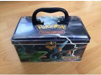 *EMPTY* Pokemon Cards EX Collector's Tin Chest Rayquaza Groudon Kyogre Deoxys