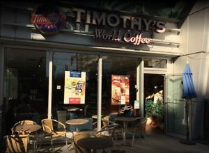 "AUCTION ! ""Timothy's World Coffee"" LIVE on-site FEB 27 @ 2 pm"