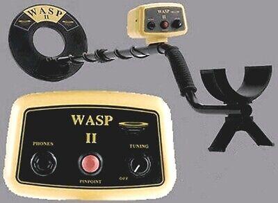 Détecteur de métaux Viking wasp 2 metal detector pinpoint militaria TBE