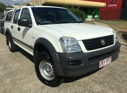 2005 Holden Rodeo RA LT White 4 Speed Automatic Crew Cab P/Up