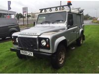 Land Rover 110 defender 2.4tdci puma 6 speed 08plate 1 owner fsh no vat