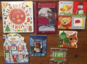 CHRISTMAS BOARD BOOKS $3 each or all 7 for $15