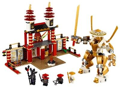 LEGO NINJAGO Temple of Light 70505 Set With Mini figures And Manual NO BOX