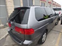 2000 Honda Odyssey,Leather, selling as is, need it gone